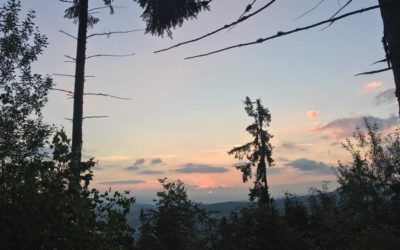 Wschód słońca nadGłodówką