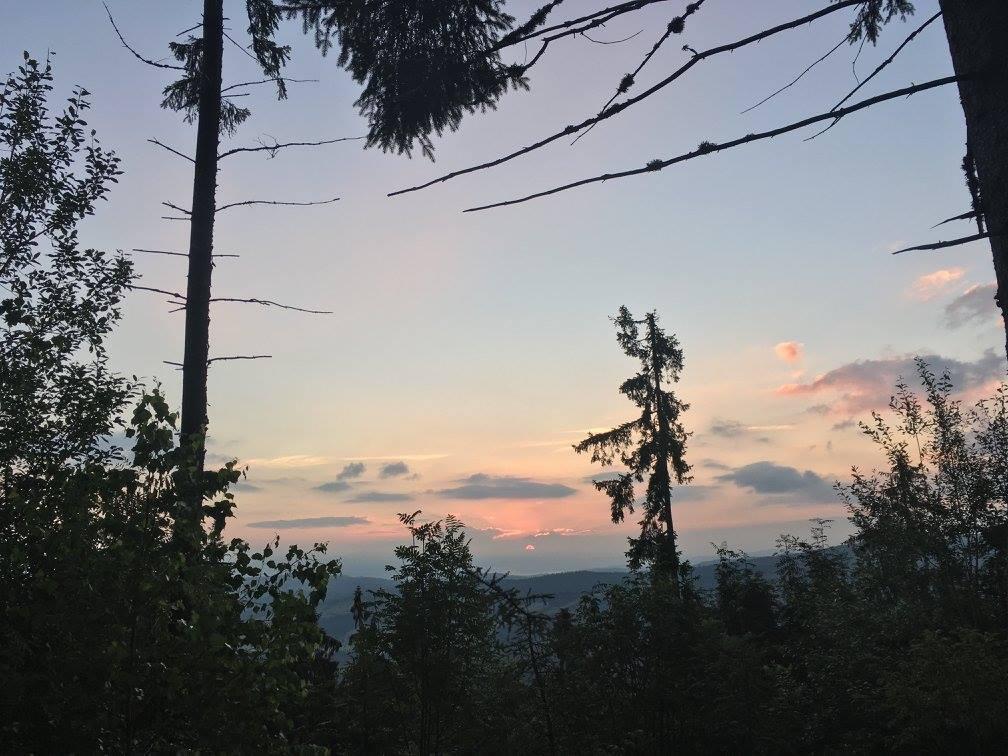 Wschód słońca nad Głodówką
