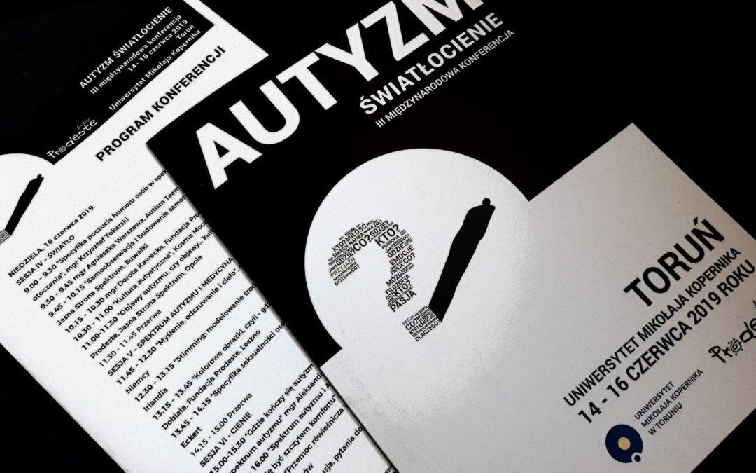 """III międzynarodowa konferencja Fundacji Prodeste: """"Autyzm. Światłocienie"""""""