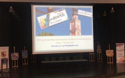 """III Ogólnopolska Konferencja naukowo-szkoleniowa """"Inny – niegorszy"""""""